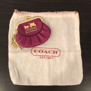 Coach Kisslock Coin Purse